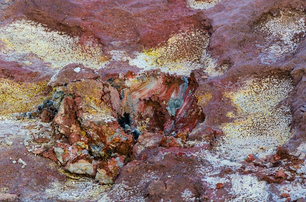 Farbiger Boden